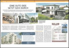 Presseartikel aus dem Immokurier zur Wiener Immobilienmesse