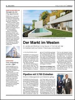 Bericht von medianet.at zur Gleichenfeier des Projekts Donaufelderstraße 255/Doningasse 8